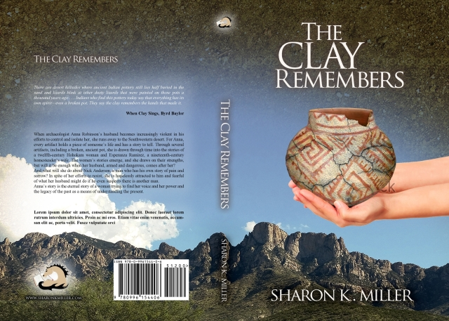 Final cover design for The Clay Remembers